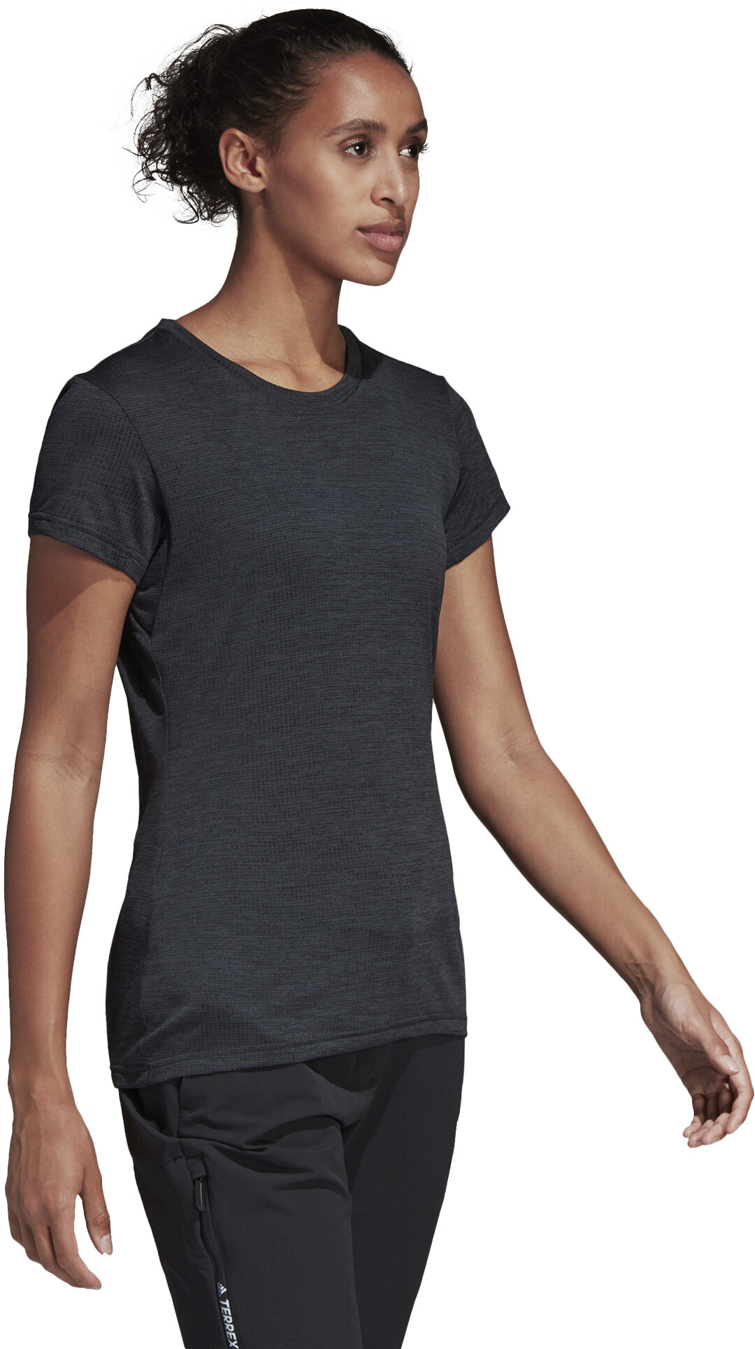 best sale look for save off adidas TERREX Tivid Kurzarm T-Shirt Damen carbon